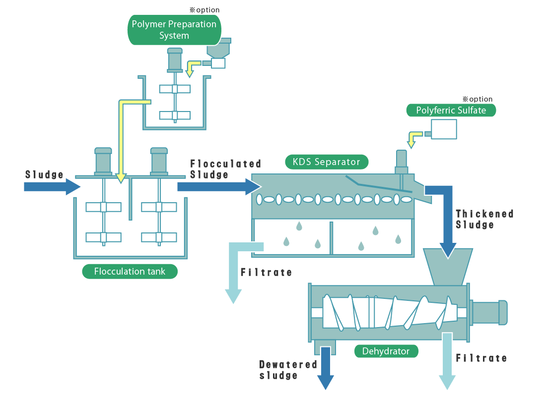DBSP Series Treatment Flow