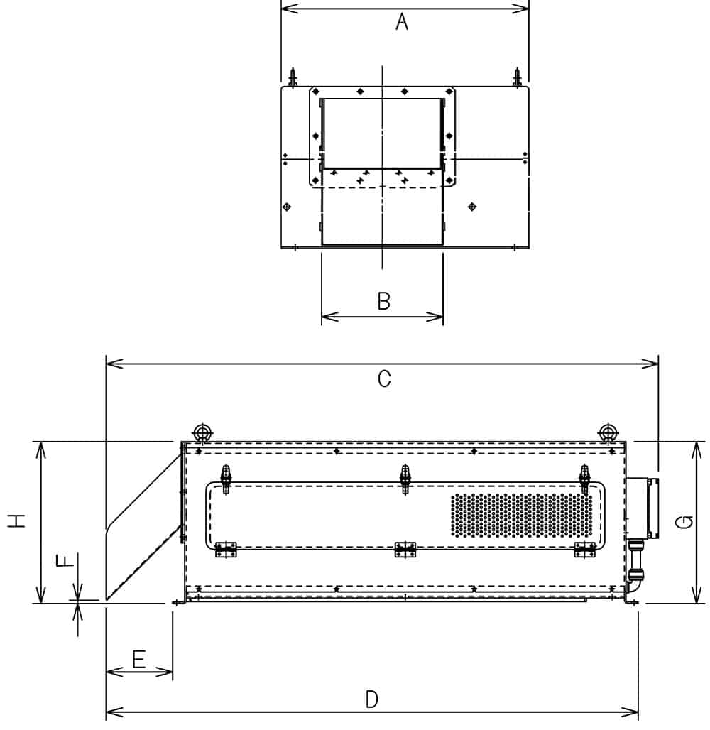 Table of Dimensions of KDS Separator